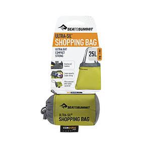 Cумка для покупок Sea To Summit Ultra-Sil Shopping Bag Lime, фото 2