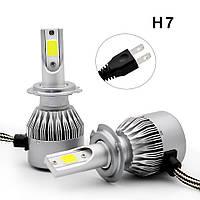LED C6 H7 COB 6500k 3800Lm 35w 12v-24v, светодиодные автомобильные лампы основного света | AG360015