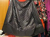 Юбка женская черная 18 52-54 XL крутая фирма per una  маркс спенссер.