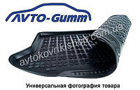Резиновый коврик багажника Lada Kalina Cross 2004-2013 (универсал) Avto-Gumm