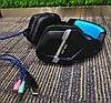 Игровые наушники с микрофоном USB + 3,5 мм геймерские для компьютера ПК игр с подсветкой Salar KX901, фото 5