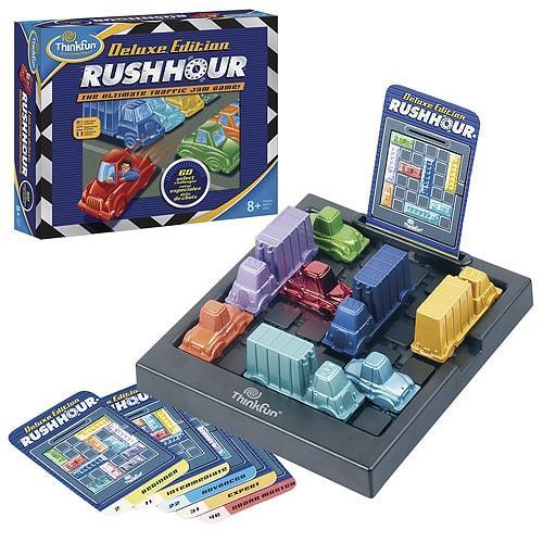 Настольная логическая игра - Час пик Делюкс |  ThinkFun Rush Hour Deluxe