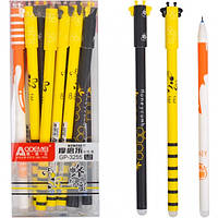"""Ручка  """"пишет-стирает"""" синяя 3255 пчелка"""