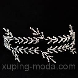 Свадебная вечерняя веточка для волос, украшения для создания прически