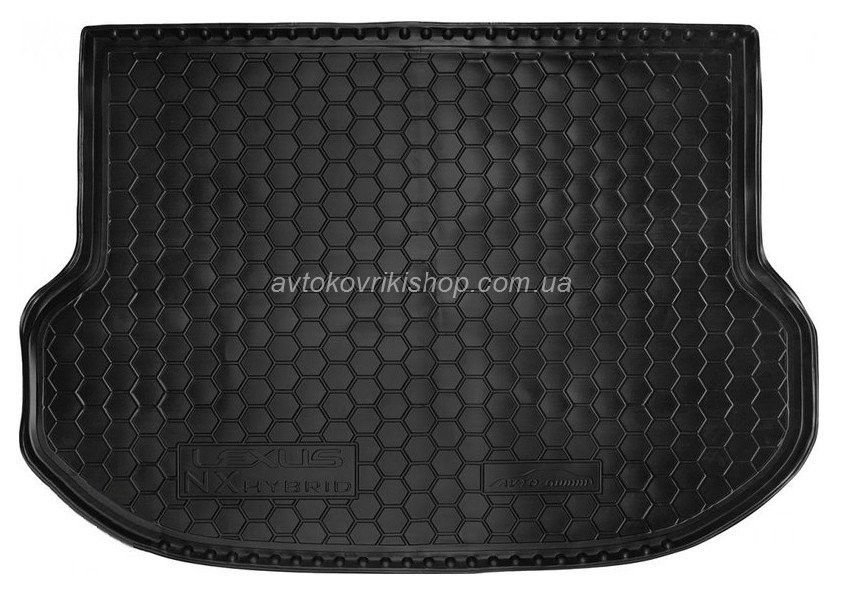 Резиновый коврик багажника Lexus NX 2014- (hybrid) Avto-Gumm