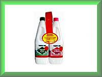 Жидкость для биотуалетов АКВА КЕМ ГРИН 1,5л + АКВА РИНЗ 1,5л (комплект)
