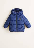 Демисезонная куртка Mango для мальчиков 9-12 мес (80 см)