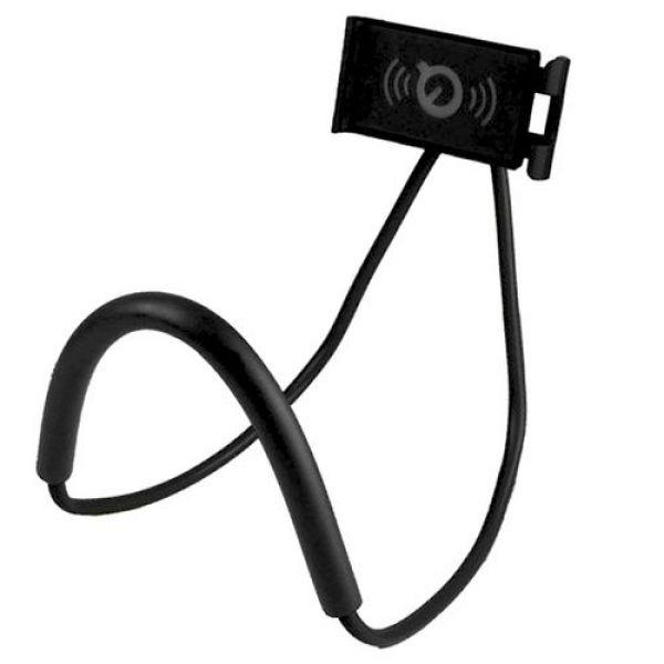 Гибкий держатель на шею для смартфона/планшета/электронной книги Epik Black
