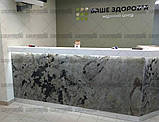 Каменный шпон, производство мебели, фасадов и деталей для интерьера из каменного шпона, ЗD визуализация,, фото 2