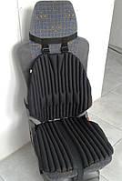 Ортопедическая подушка - накидка для сидения EKKOSEAT на авто кресло (TIR), универсальная с био наполнителем