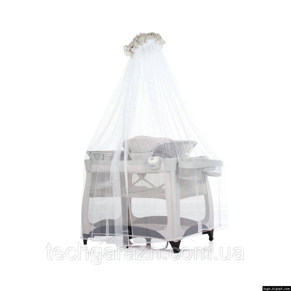 Кровать-манеж детская Evenflo®Vill4 – бежевый (E7BK)