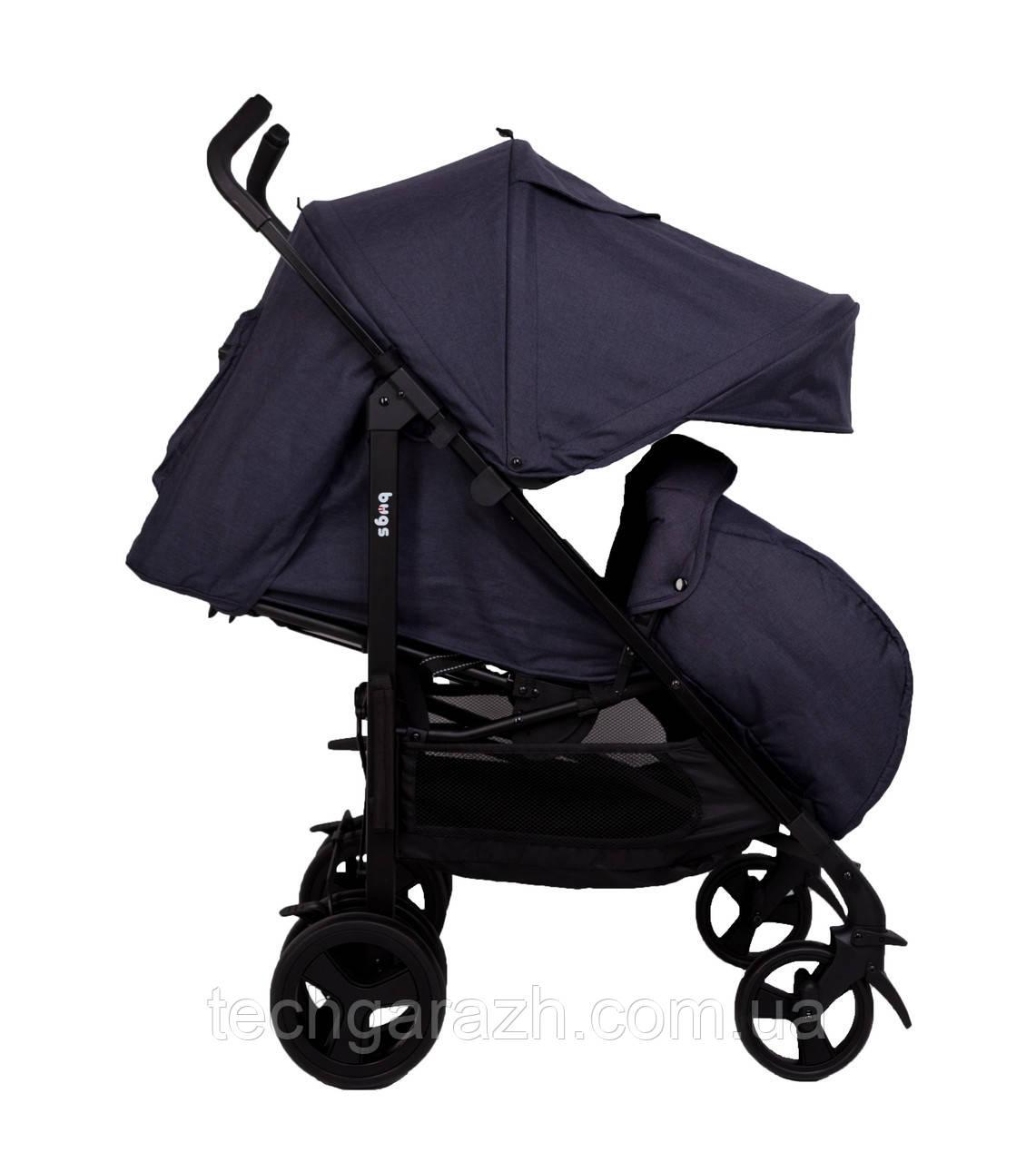 Прогулочная коляска Bugs® Witty - синий