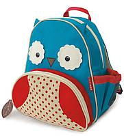 Рюкзак Skip Hop Сова Голубой-Красный 8796740002180