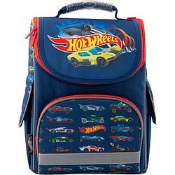Рюкзак школьный каркасный Kite Education Hot Wheels