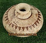 Керамический сосуд (ваза) Декантер. Садовая керамика, фото 3