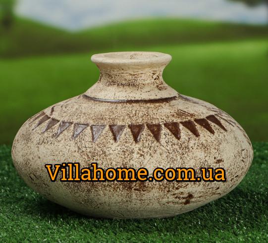 Керамический сосуд (ваза) Декантер. Садовая керамика