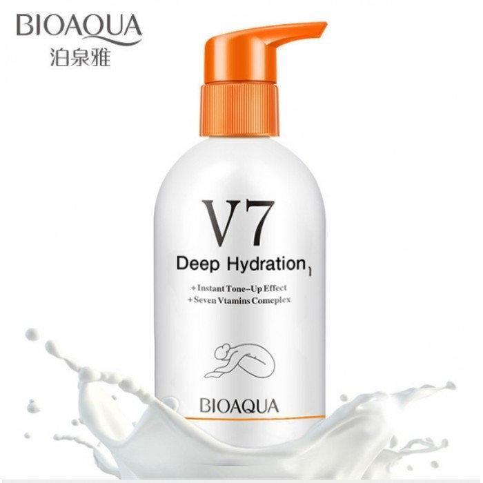Увлажняющий лосьон для тела Bioaqua Deep Hydration Body Lotion V7 (180мл)