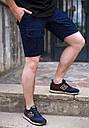 Шорты карго мужские темно-синие бренд ТУР модель Брутто (Brutto) S, M, L, XL, XXL, фото 2