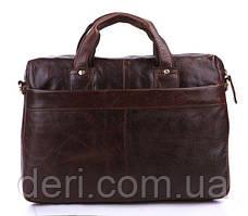 Сумка мужская Vintage 14114 Коричневая, Коричневый, фото 3