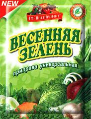 """ПРИПРАВА """"ЦВЕТАРОМАТ"""" ВЕСЕННЯЯ ЗЕЛЕНЬ, 70ГР"""