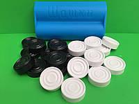 Шашки пластиковые в коробке Украина, фото 1