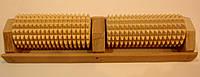 Массажер деревянный для ног на 2 валика, фото 1