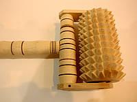 Массажер каталка деревянный, фото 1