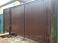 Распашные ворота ТМ Хардвик ш3500, в2100 (дизайн стандарт), фото 2