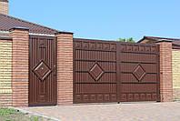 Распашные ворота ТМ Хардвик 3500, 2100 (дизайн ЛЮКС), фото 2