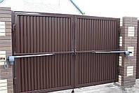 Распашные ворота ТМ Хардвик 3500, 2100 (дизайн ЛЮКС), фото 4
