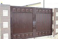 Распашные ворота ТМ Хардвик 3500, 2100 (дизайн ЛЮКС), фото 5