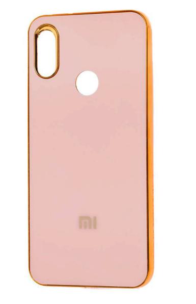 Чехол бампер New Rock для Xiaomi Redmi Note 7 (розовая/пудра)