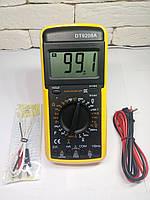 Мультиметр SX DT-9208A с измерением конденсаторов, температуры, частоты, силы тока