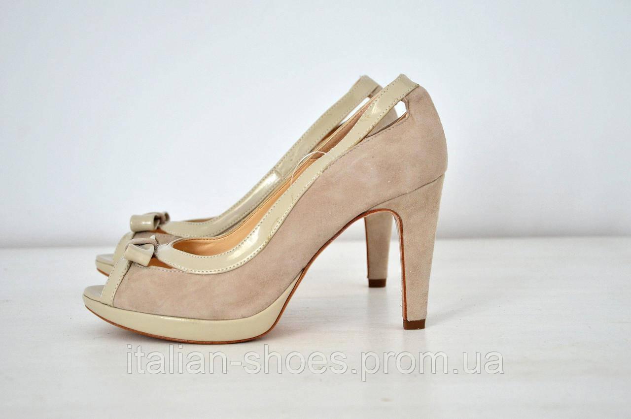 Туфли с открытым носочком Marika Milano