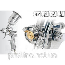 Краскопульт HP STEEL MINI PROF 0,5 мм INTERTOOL PT-0306, фото 3