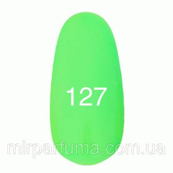 Гель лак KODI №127 неоновый зеленый 12 мл