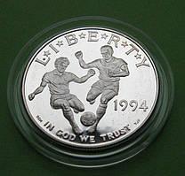 США 1 доллар 1994 г. Чемпионат мира по футболу в США . Пруф
