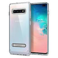 Чохол Spigen для Samsung Galaxy S10 Plus Ultra S Hybrid, Crystal Clear (606CS25768)