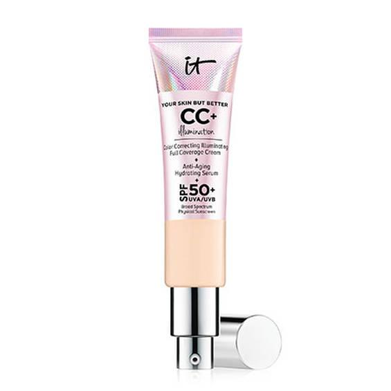 СС крем IT Cosmetics IT Your Skin But Better CC+ Illumination SPF 50+ (Light Medium)