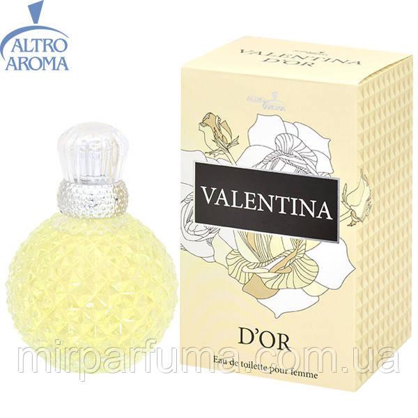 Женская туалетная вода, валентина, VALENTINA D`OR