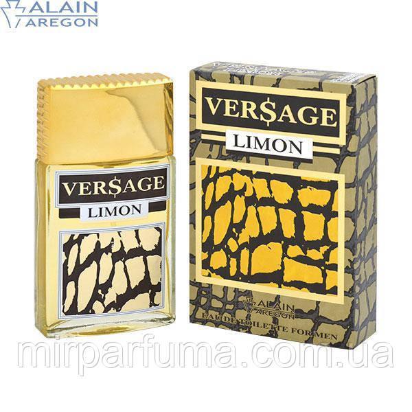 Туалетная вода для мужчин,  версаче  лимон, VERSAGE LIMON