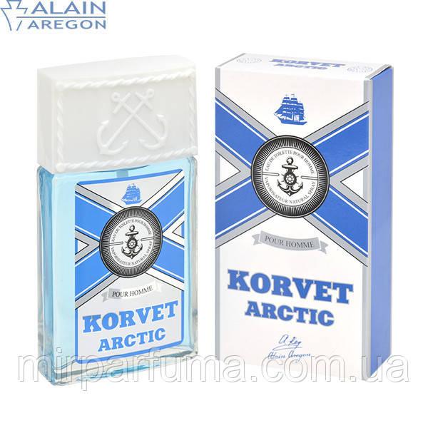 Туалетная вода для мужчин, корвет, KORVET ARCTIC