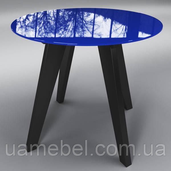"""Стіл скляний круглий """"Леонардо Коло """""""