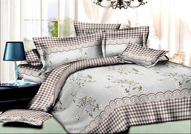 Постельное бельё полуторное 150*220 хлопок (7260) TM KRISPOL комплект постельного белья полуторный