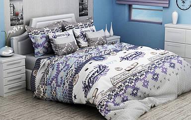 Детский комплект постельного белья 150*220 хлопок (8963) KRISPOL Украина постельное белье детское