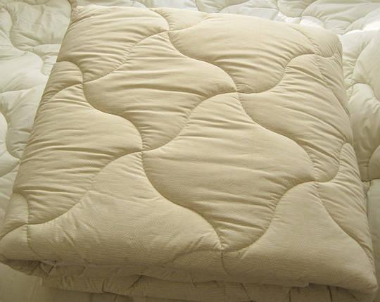 Одеяло двухспальное евро лебяжий пух 200*210 хлопок (3273) TM KRISPOL Украина, фото 2