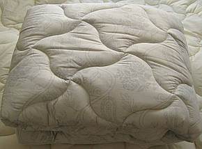 Одеяло двухспальное евро лебяжий пух 200*210 хлопок (3273) TM KRISPOL Украина, фото 3