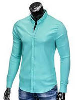 Рубашка (зеленая бирюза)