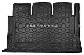Резиновый коврик багажника Mercedes-Benz Viano (W639) (Long) 2003-2014 Avto-Gumm