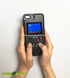 Чехол Game Boy Black для iPhone 6 / 7 / 8 (36 игр)
